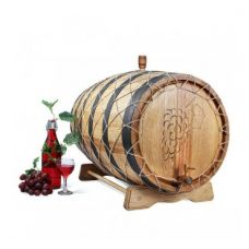 Купить Бочка из кавказского дуба с краном 100 л Премиум в Балаково