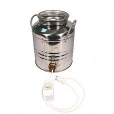 Купить Бидон из нержавейки 20 л + ТЭН 2 кВт + термометр в Балаково