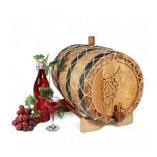 Купить Бочка с краном 25 л Премиум (кавказский дуб) в Балаково