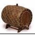 Купить Бочка с краном под старину 25 л Премиум (кавказский дуб) в Балаково