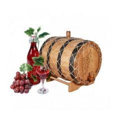 Купить Бочка с краном 10 л Премиум (кавказский дуб) в Балаково