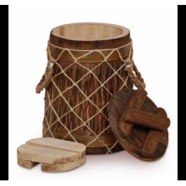 Кубельчик для засолки под старину дубовый 4 л (кавказский дуб)