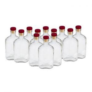 Комплект стеклянных бутылок «Фляжка» 0,25 л (12 шт.)