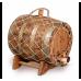 Купить Бочка с краном под старину 10 л Премиум (кавказский дуб) в Балаково