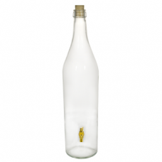 Купить Стеклянная бутылка «Русская четверть» 3 л с краном в Балаково