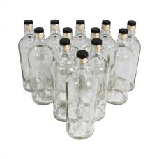 Комплект бутылок «Абсолют» с пробкой 1 л (12 шт.) в Балаково