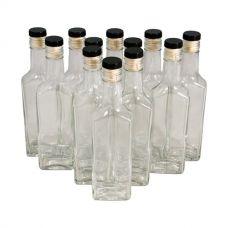 Купить Комплект стеклянных бутылок «Ива» с пробкой 0,25 л (12 шт.) в Балаково