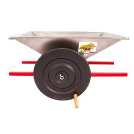 Дробилка для винограда PGI ручная большая, нержавеющая сталь